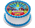 wiggles edible wafer cake topper boys emma birthday 1st 2nd 3rd 4th 5th dorothy