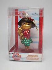 Dora the Explorer Teddy Bear Tree Skirt Glass Kurt Adler Christmas Ornament