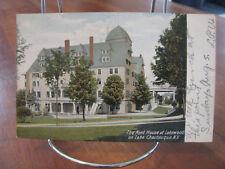 "1906 ""The Kent House At Lakewood; On Lake Chautauqua, N.Y."" Postcard"
