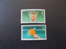 Berlin, Sporthilfe, Basketball Europameistersch, MiNr. 732/33, postfrisch, TOP!