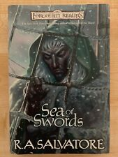 Paths of Darkness: Sea of Swords Bk. 3 by RA Salvatore 1st Edition Hardcover