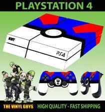 Cover e adesivi multicolori modello PlayStation 4-Original con console per videogiochi e console