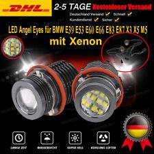 2x 60W für BMW E39 E53 E60 E66 E83 E87 X3 X5 M5 Angel Eyes LED Marker Standlicht