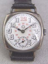 "schöne alte Armbanduhr ca.20er Jahre ""Dollar"" Silber 800/-"