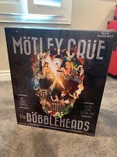Locoape Motley Crue Resin Bobble Head Statue All 4 members Box set