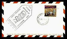 DR WHO 1972 COOK ISLANDS SPACE TRACKING STA APOLLO 17 SPLASHDOWN CACHET  g42371