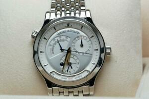 Jaeger-LeCoultre Master Geographic Wristwatch 142.8.92 - Box & Papers