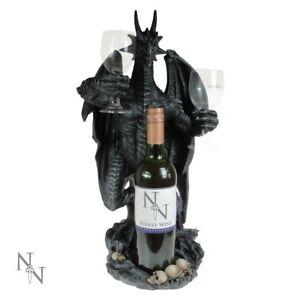 DRAGON WINE GUARDIAN Extra Large 50cm Bottle Holder Nemesis Now Gift - FREE P+P