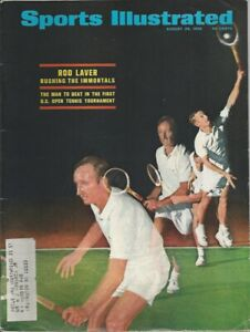 Sports Illustrated; Rod Laver; U.S. Open Tennis Tournament; August 26, 1968