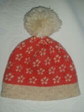 Country Road Baby Girl Winter Warm Beanie with Pom Pom - 100% Wool