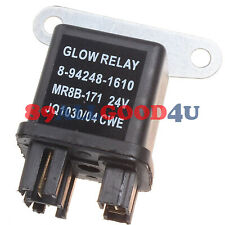 Relay Glow Plug 8942481610 24V for Isuzu Hitachi EX35U EX27U EX50U ZAXIS35U
