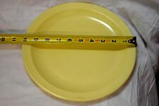 Canadian army issue yellow eating plate ( store bte#20 )