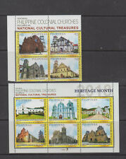 Philippine Stamps 2018 Heritage Churches Complete set MNH
