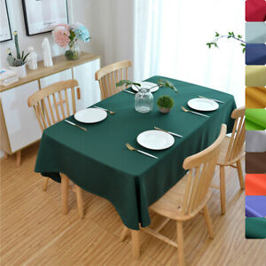 Cotton Linen Table Runner Long Tablecloth Cover Tea Ceremony Party Home Decor