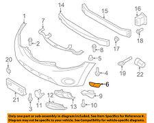NISSAN OEM 09-14 Murano Front Bumper-Side Bracket Left 622231AA2A