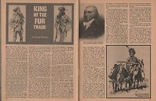 John Jacob Astor-King Of The Fur Trade+Baranoff,Clappine,Daschkoff, Lamazee,Todd