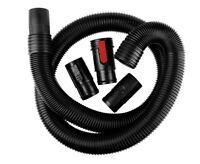 WORKSHOP Wet/Dry Vacs WS25020A 2-1/2-Inch x 7-Feet Dual-Flex Locking Vacuum Hose