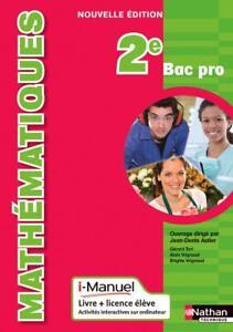 Mathématiques - 2e Bac Pro (Français) Broché