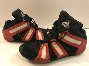 Wrestling Shoes 9.5 Adidas Graps Grapplers Red/Black