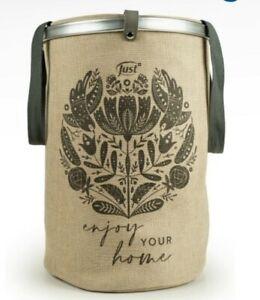 home bag just borsa cesta salvaspazio borsone casa cestone portabiancheria sacca