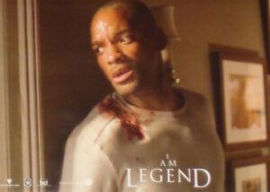 I AM LEGEND - Lobby Cards Set - Will Smith, Alice Braga