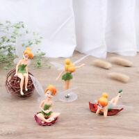4pcs Fairy Miniature Figurine Dollhouse Garden Decoration beautiful toys