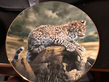 """Hamilton Collection by Charles Frace - Quiet Morning 8.5"""" Plate #2044A w/certif"""