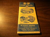 JUNE 1953 SOUTHERN PACIFIC SYSTEM PUBLIC TIMETABLE