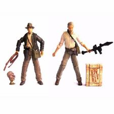 Lot2pcs INDIANA JONES Kingdom of the Crystal Skull 3.75'' Figure With Accessory