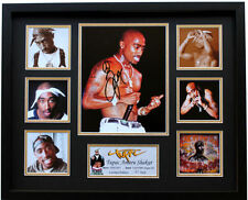 New Tupac 2Pac Signed Limited Edition Memorabilia Framed