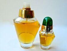 Lot 2 VOLUPTE Oscar de la Renta Perfume EDT 1.7 oz and 1/3 oz Sprays Barely Used