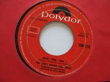 JAMES BROWN    HONKY TONK  Parts 1&2   1972 UK POLYDOR RECORDS