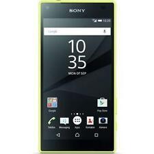 Sony  Xperia Z5 Compact E5803 (aktuellstes Modell) - 32GB - Gelb (Ohne Simlock) Smartphone