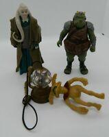 Vintage Star Wars 1983 Bib Fortuna Salacious B Crumb Gamorrean Guard Figure