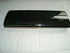 Vintage Mont Blanc Pen Gift Box-Black Plastic from Holland