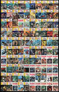 Bob Morane - Collection complète 1 à 100 édit. Marabout