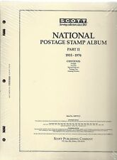 Scott National US Page Set Part II 1935-1976 100NTL2