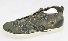AUTH Gucci Men Flora Print Lace Up Canvas Sneaker Shoes Gucci11.5/US12