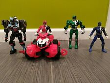 Power Rangers SPD - 4 Figures  and 1 Vehicle Lot