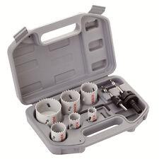 Bosch Pro HSS Bi-Metal Holesaw Electricistas fijado en caja 2608580804 3165140641449