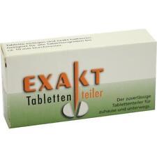 EXAKT Tablettenteiler 1St PZN 3546722