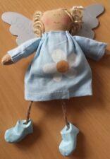 Engel aus Stoff #11 mit Metallflügel ca. 15cm