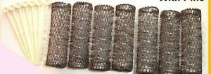 Medium Brush Roller Pins Hair Curler Bristle Accessories Kit Parts Pack of 2