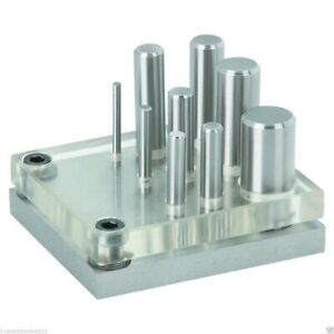 Punch and Die Set, 9 Pc