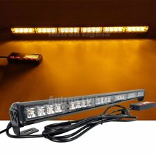"24 LED 26"" Amber Flashing Wrecker Traffic Emergency Beacon Warn Strobe Light Bar"