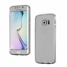for Samsung Galaxy A3 2016 Glitter Ultra Clear GEL Case 360 TPU Thin Cover Grey