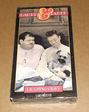 Laughing Gravy (VHS, 1992) colorized Laurel and Hardy NEW & FACTORY SEALED