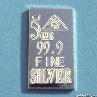 1 Silberbarren = 0,324 Gramm 999 Feinsilber Silber Barren Geburtstagsgeschenk