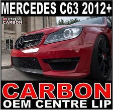 Mercedes C Class C63 2012+ OEM Style Carbon Front Lip Centre Spoiler Splitter