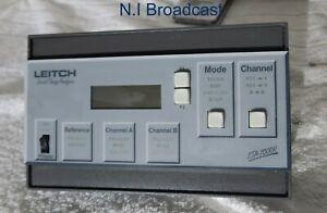 Leitch sta7000r remote panel
